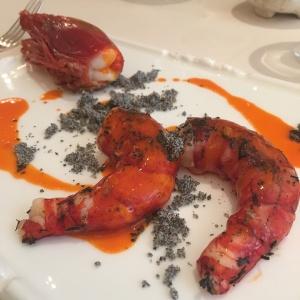 Belcanto Prawn Dish